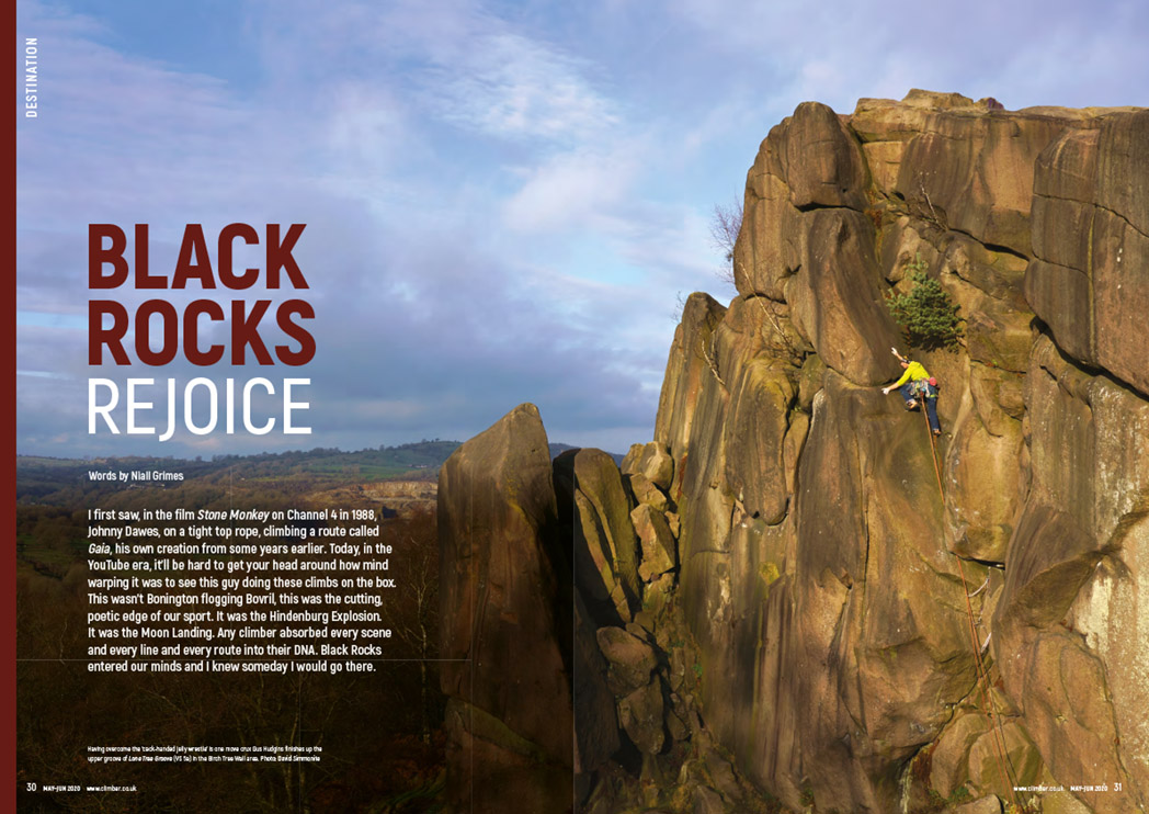 Climber May-June 2020 pages 30-31