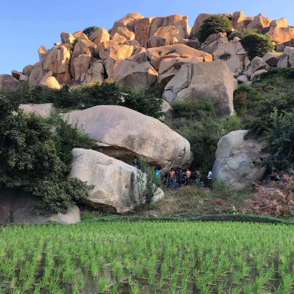 World-class bouldering at Hampi