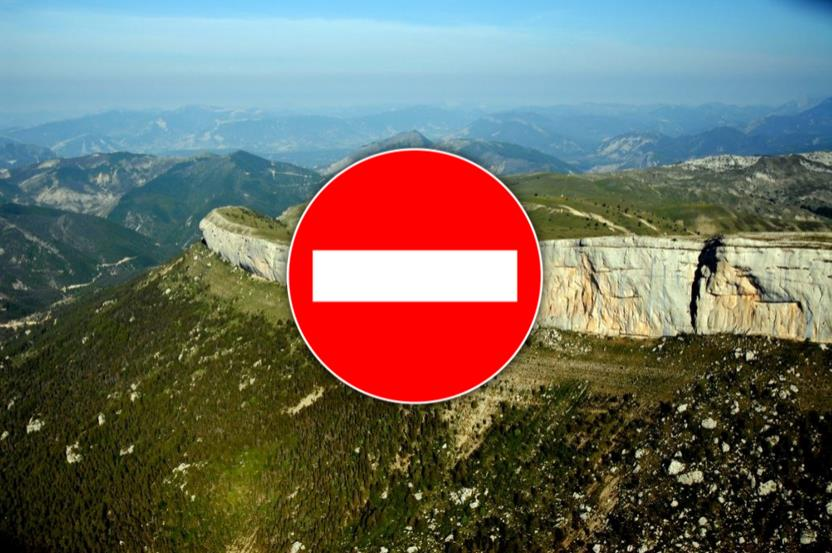 French crags are now closed following similar closures in Spain and Italy.