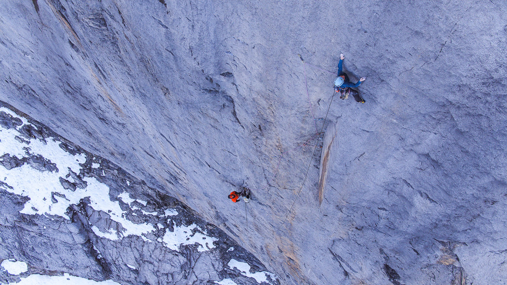 Babsi on pitch 20 (F7c). Photo: Alpsolut Pictures