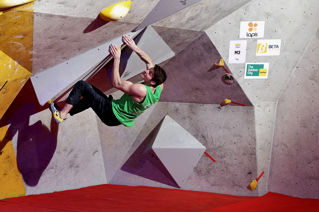 Billy Ridal competing in the 2020 CWIF Final. Photo: Keith Sharples