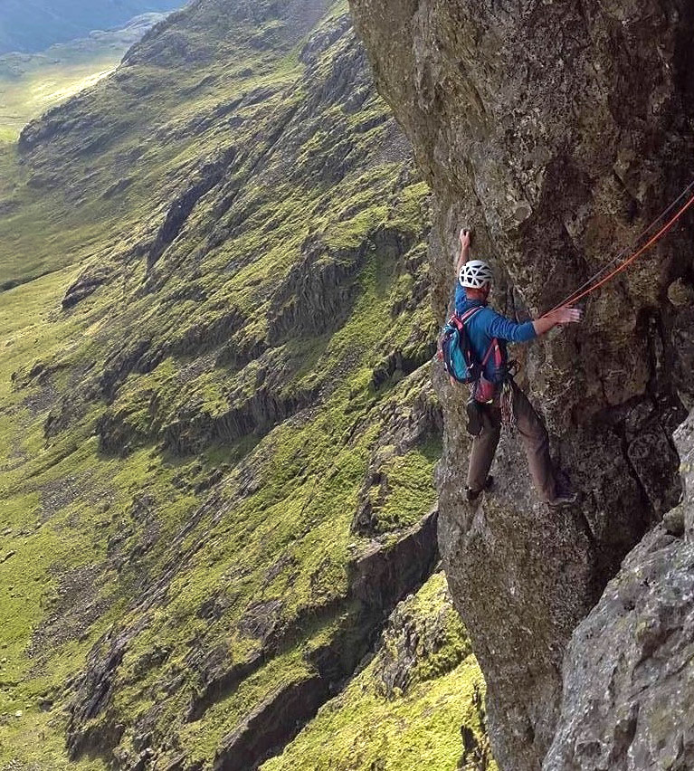 Lord of the Rings on Scafell's East Buttress. Photo: © James McHaffie